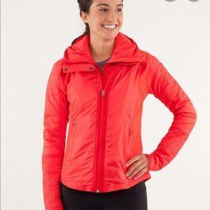 Lululemon Run: Bundle Up Jacket Red